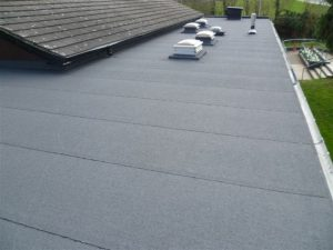 residential rubber roof installation bucks county pa